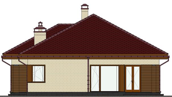 Проект дома 4m557 фасад