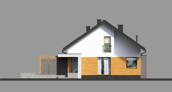 Проект дома 4m717 фасад
