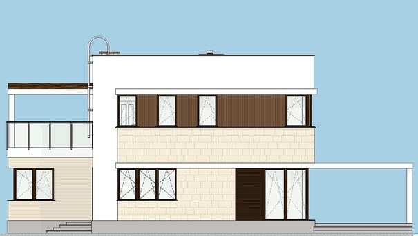Проект дома 4m561 фасад
