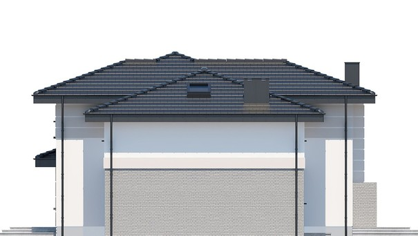 Проект дома 4m761 фасад