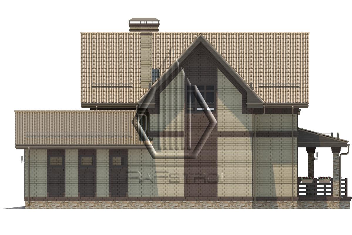 RF-30105. Проект дома  фасад