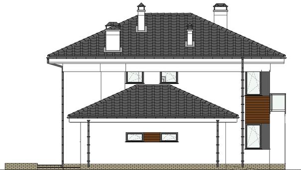 Проект дома 4m565 фасад