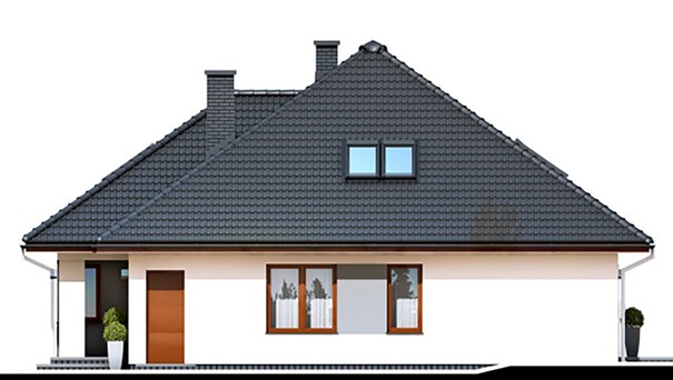 Проект дома 4m789 фасад