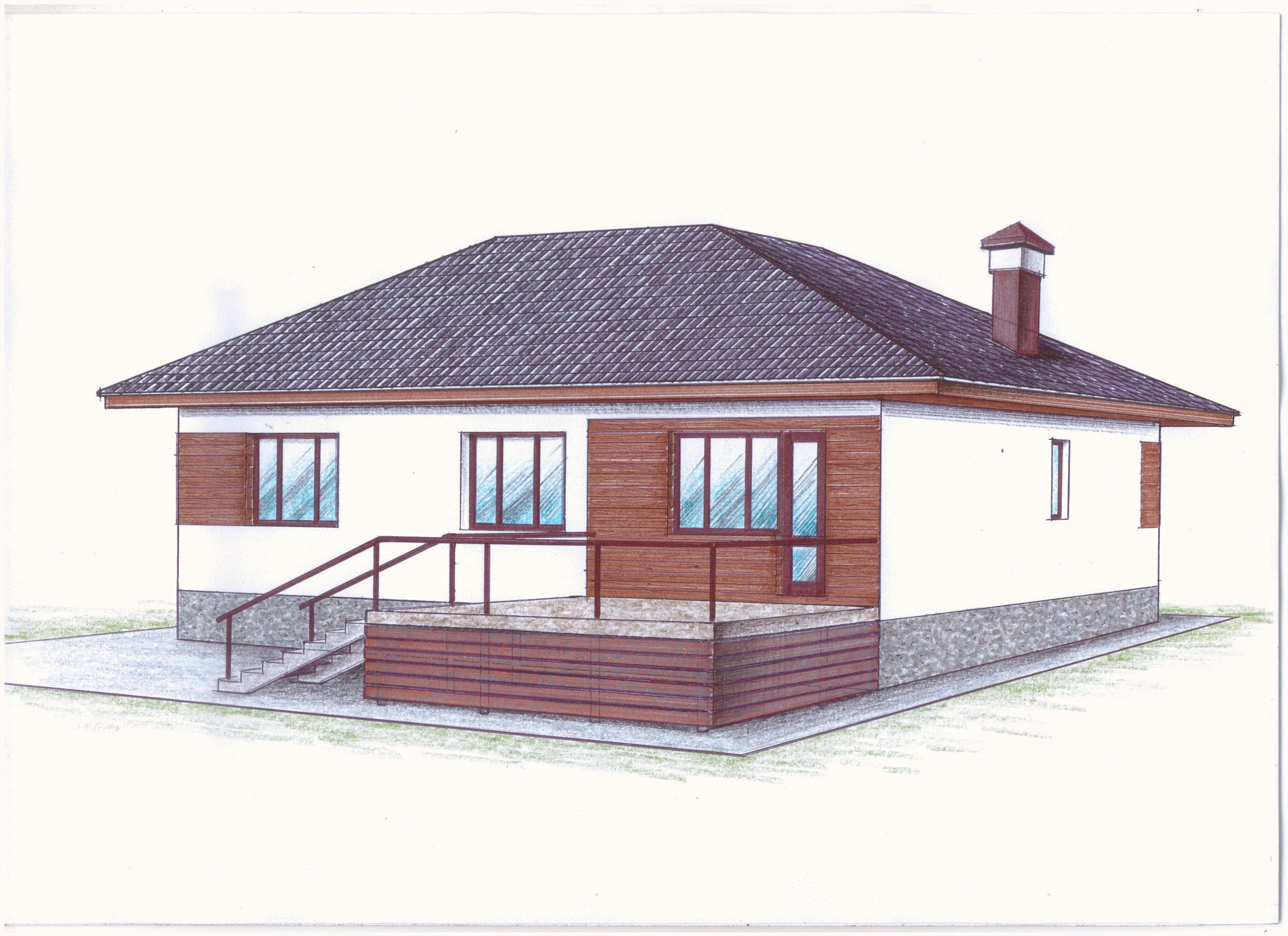 """Проект """"Иж-345"""" фасад"""