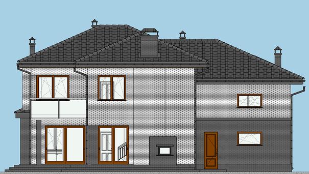 Проект дома 4m577 фасад
