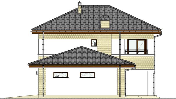 Проект дома 4m575 фасад