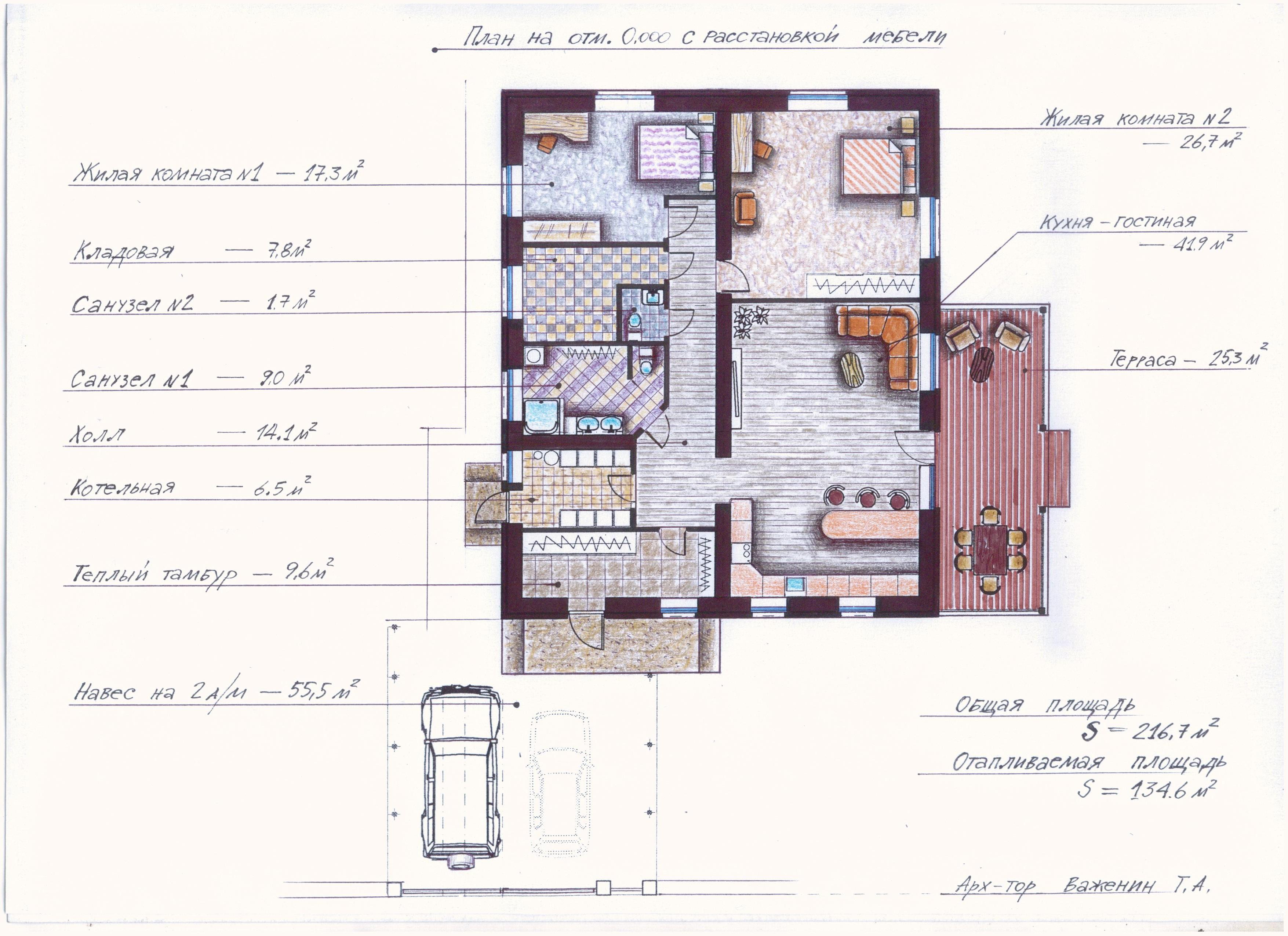 "Проект ""Иж-349"" план"