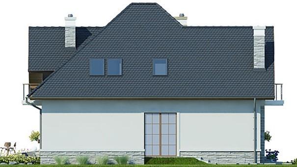 Проект дома 4m401 фасад