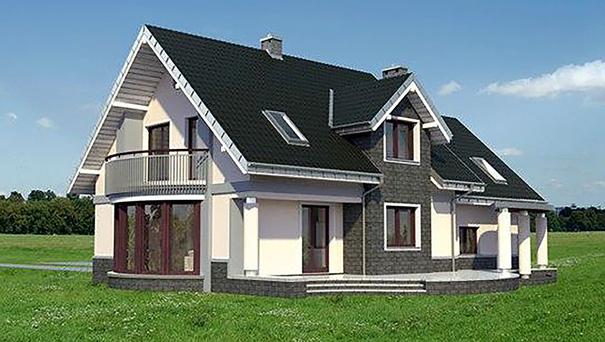 Проект дома 4m3241a фасад