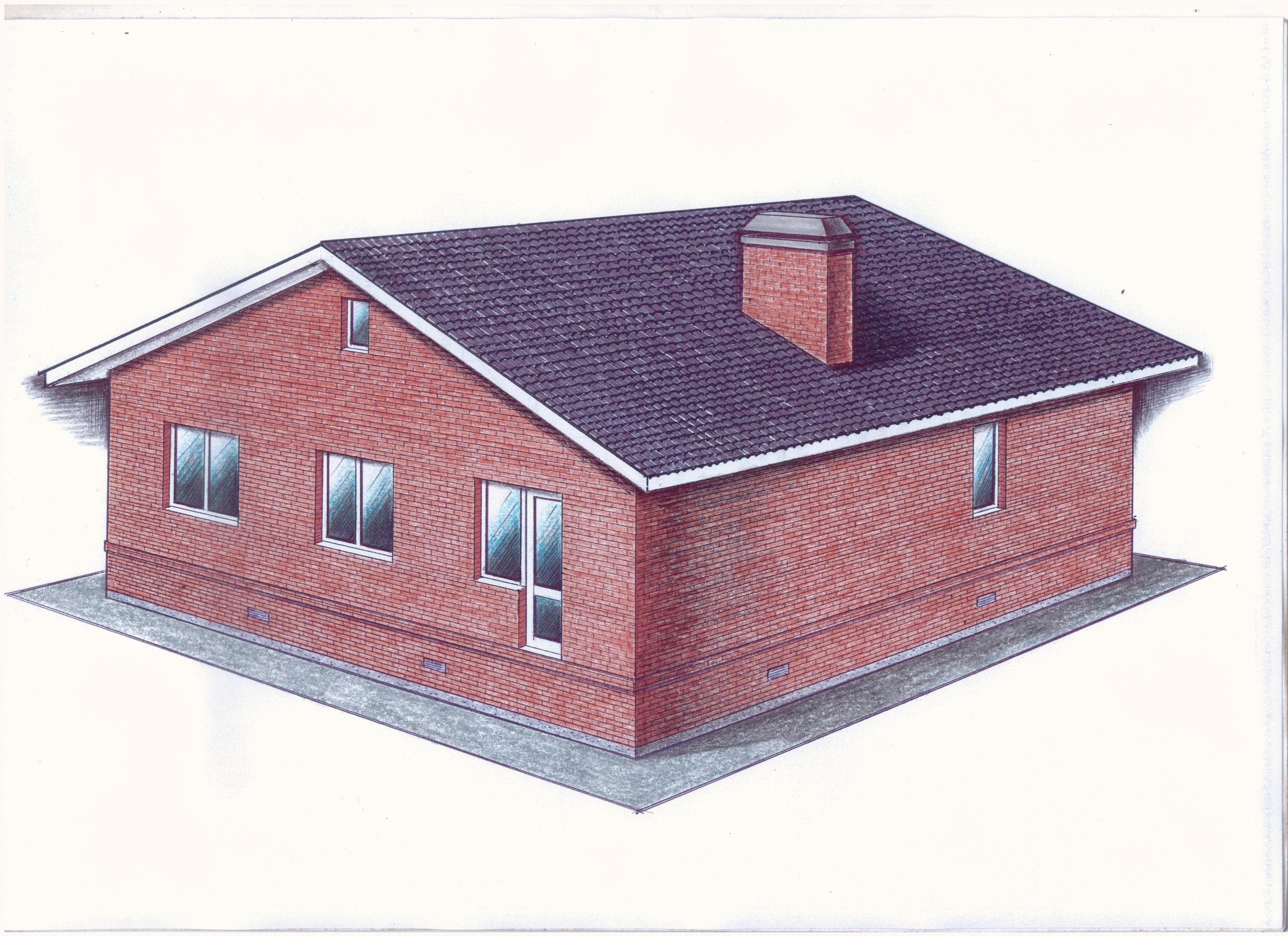 """Проект """"Иж-351"""" фасад"""