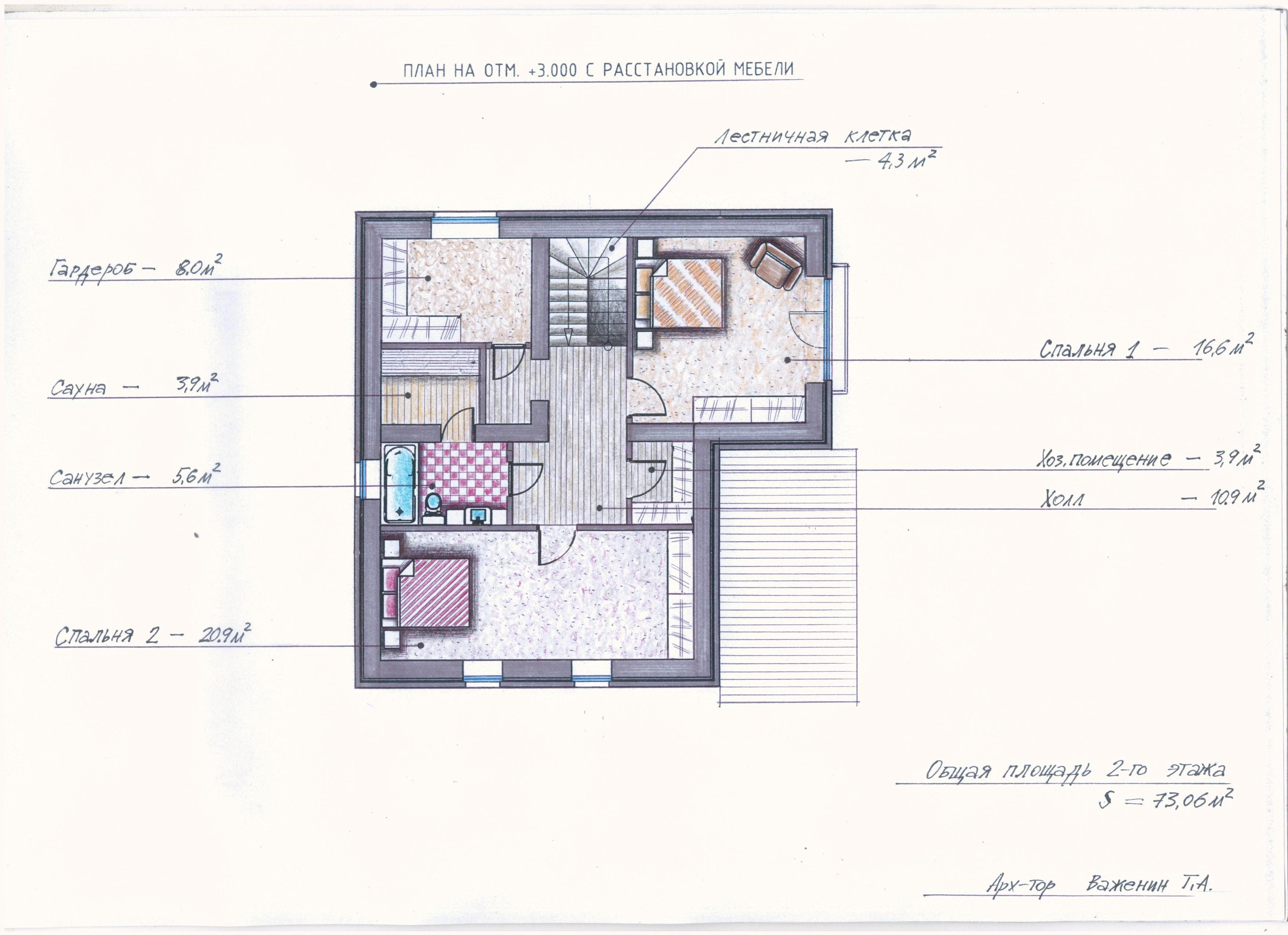 "Проект ""Иж-354"" план"