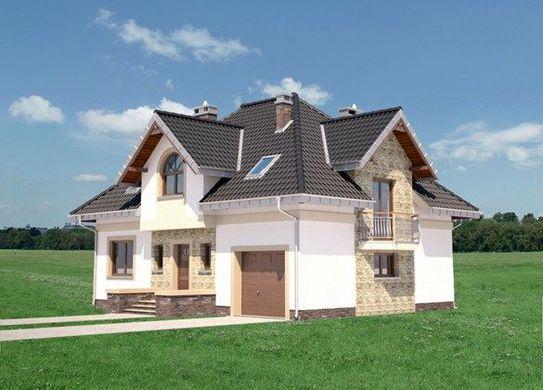 Проект дома 4m3516 фасад