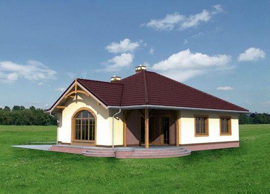 Проект дома 4m3309 фасад