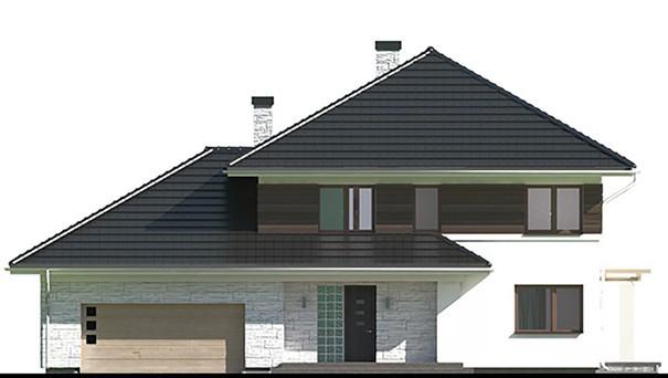 Проект дома 4m385 фасад