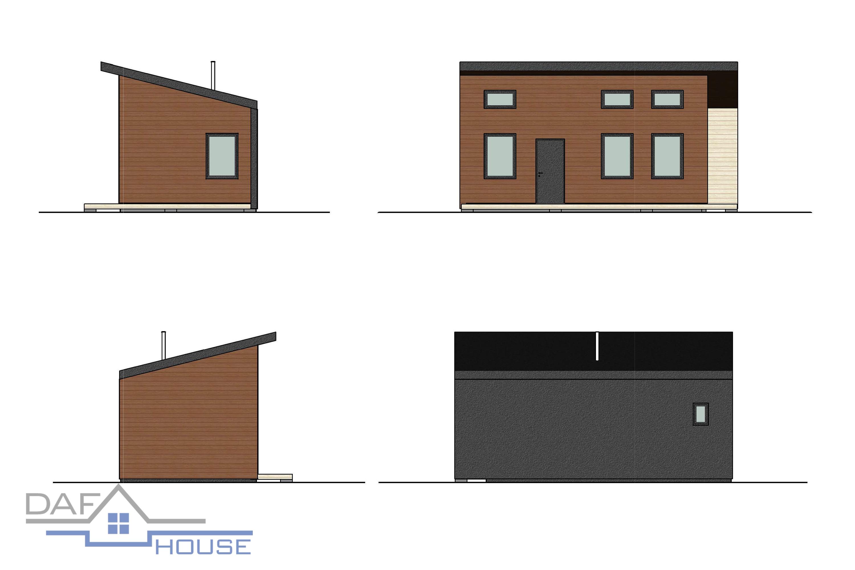 Проект А5083 фасад