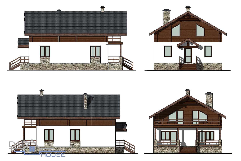 Проект В5624 фасад