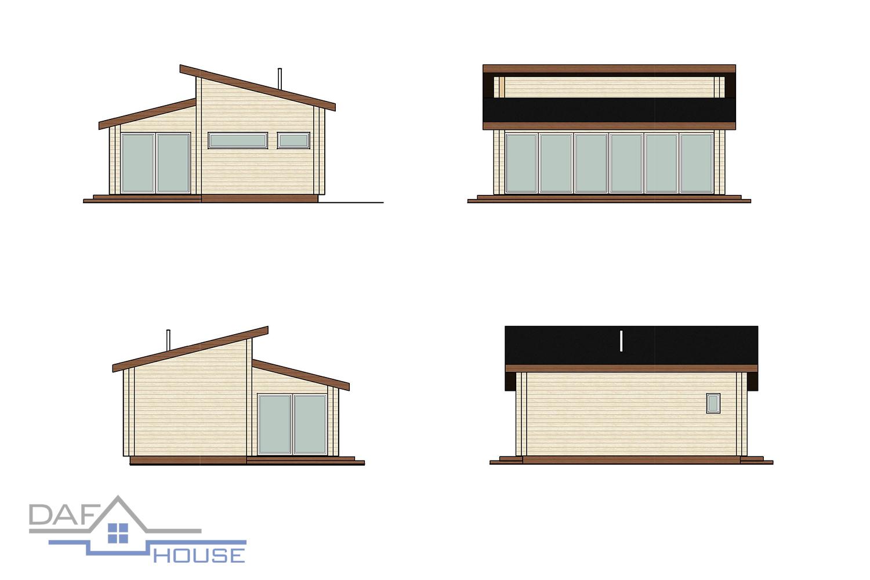 Проект А5082а фасад