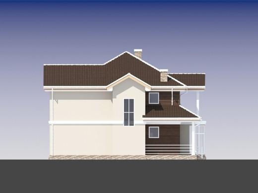 Проект дома 4m821 фасад
