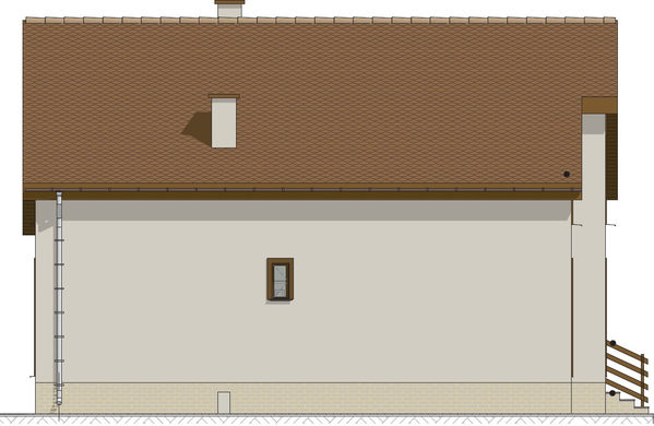 Проект дома 4m712 фасад