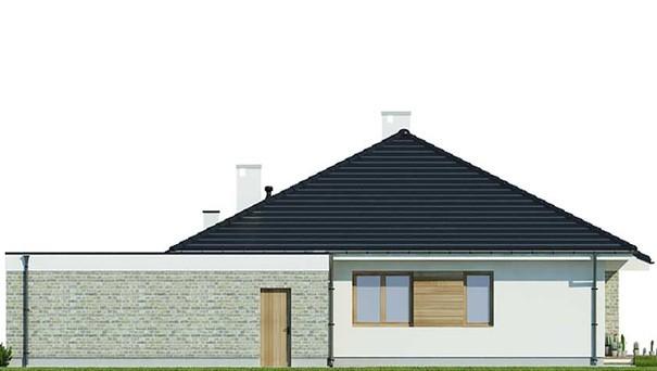 Проект дома 4m897 фасад