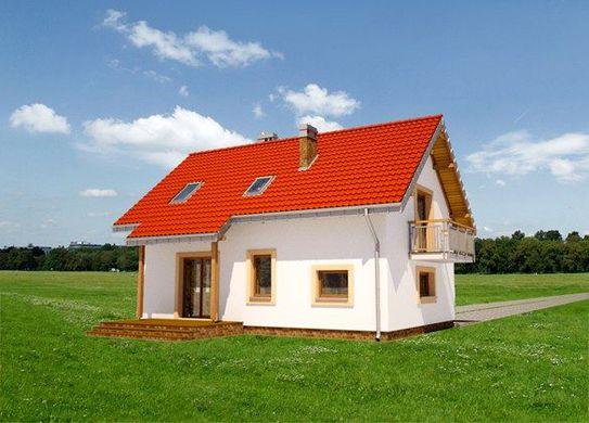 Проект дома 4m3343 фасад