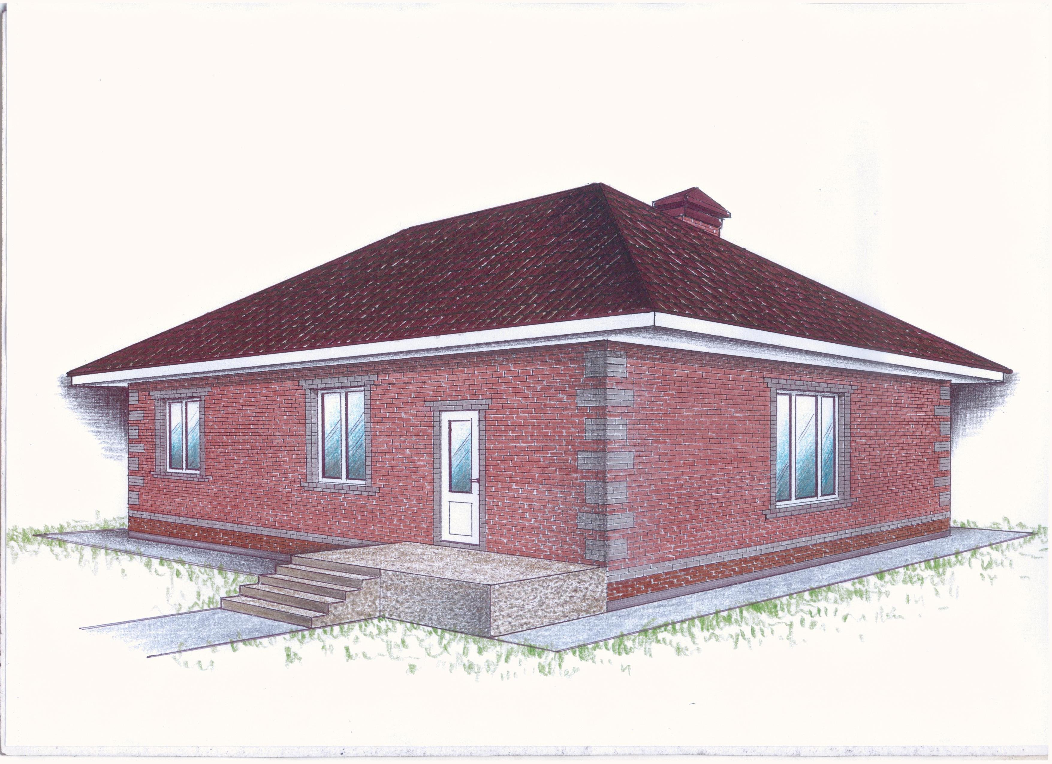 """Проект """"Иж-362"""" фасад"""