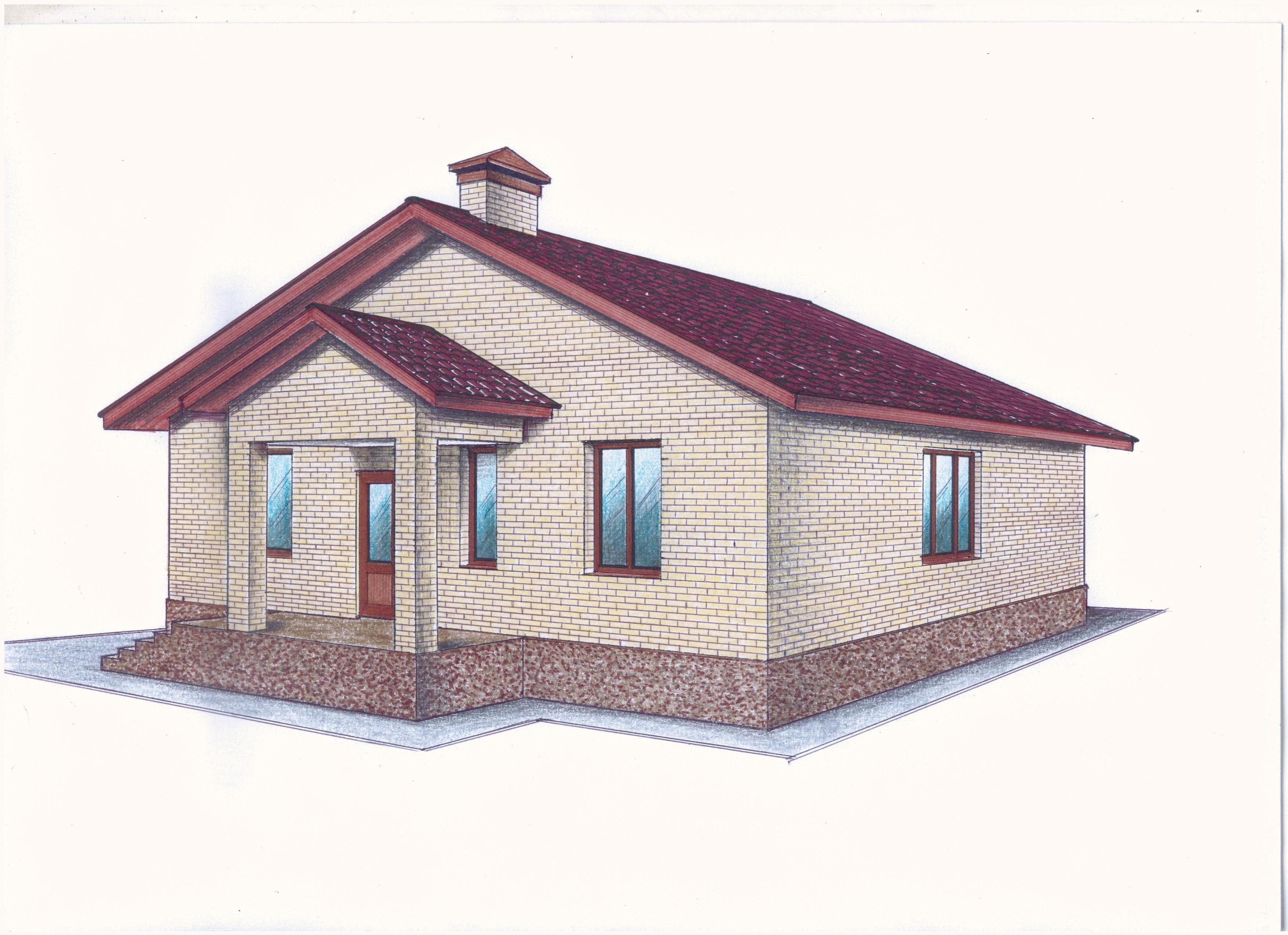 """Проект """"Иж-364"""" фасад"""
