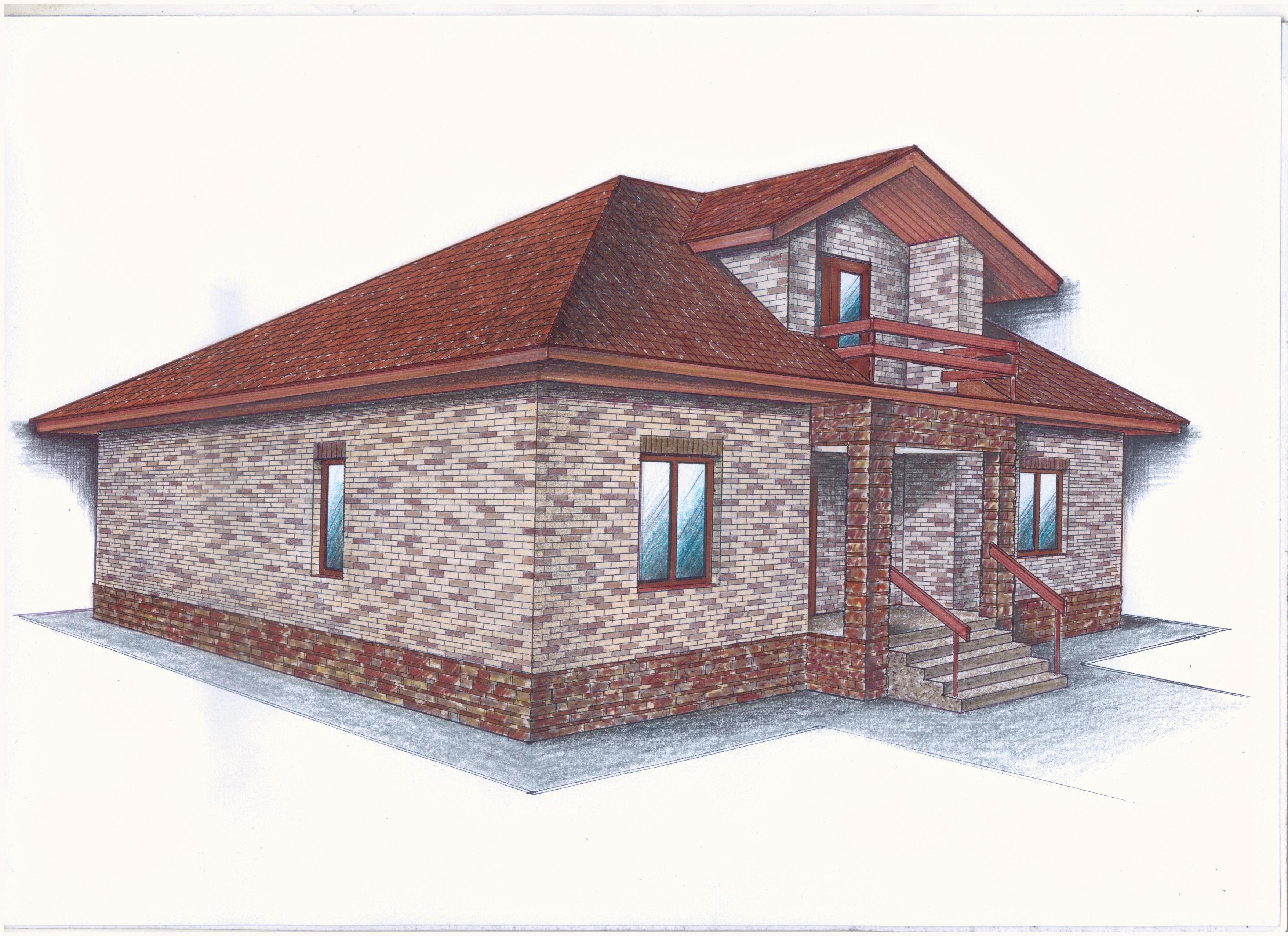 Иж-365 фасад