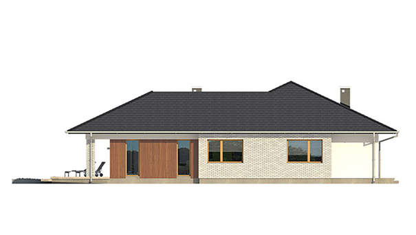 Проект дома 4m585 фасад