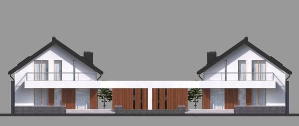 Проект дома 4m715 фасад