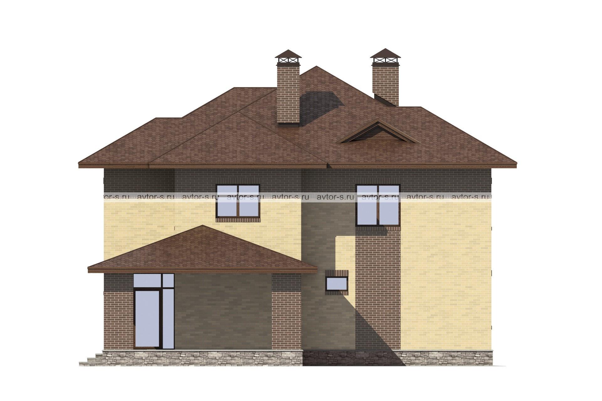 Проект AV300 фасад