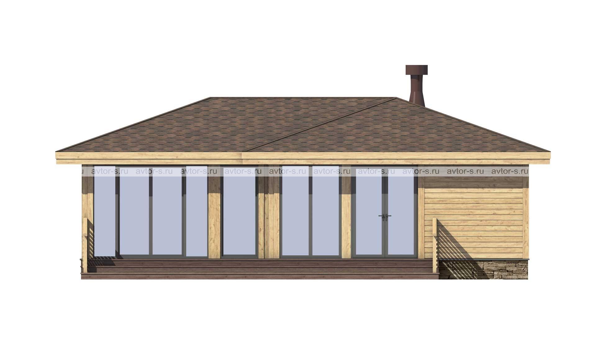 Проект AV108 фасад
