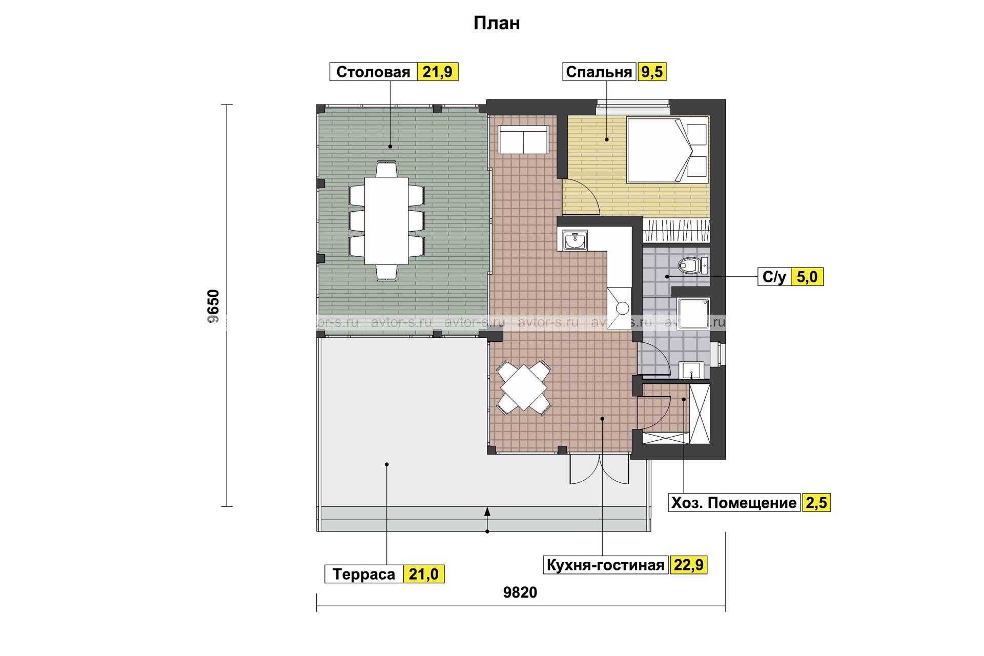 Проект AV108 план