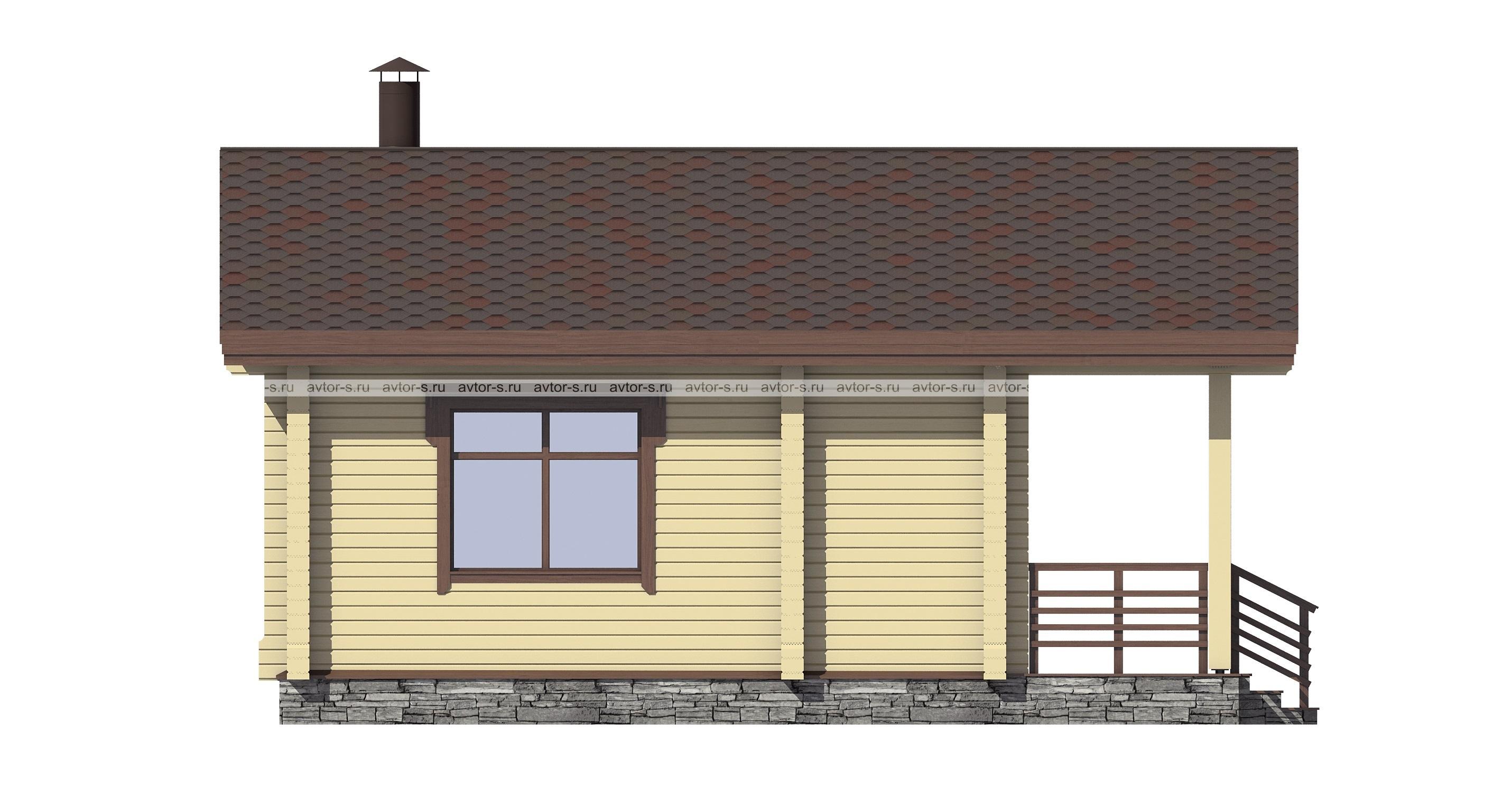 Проект AV105 фасад