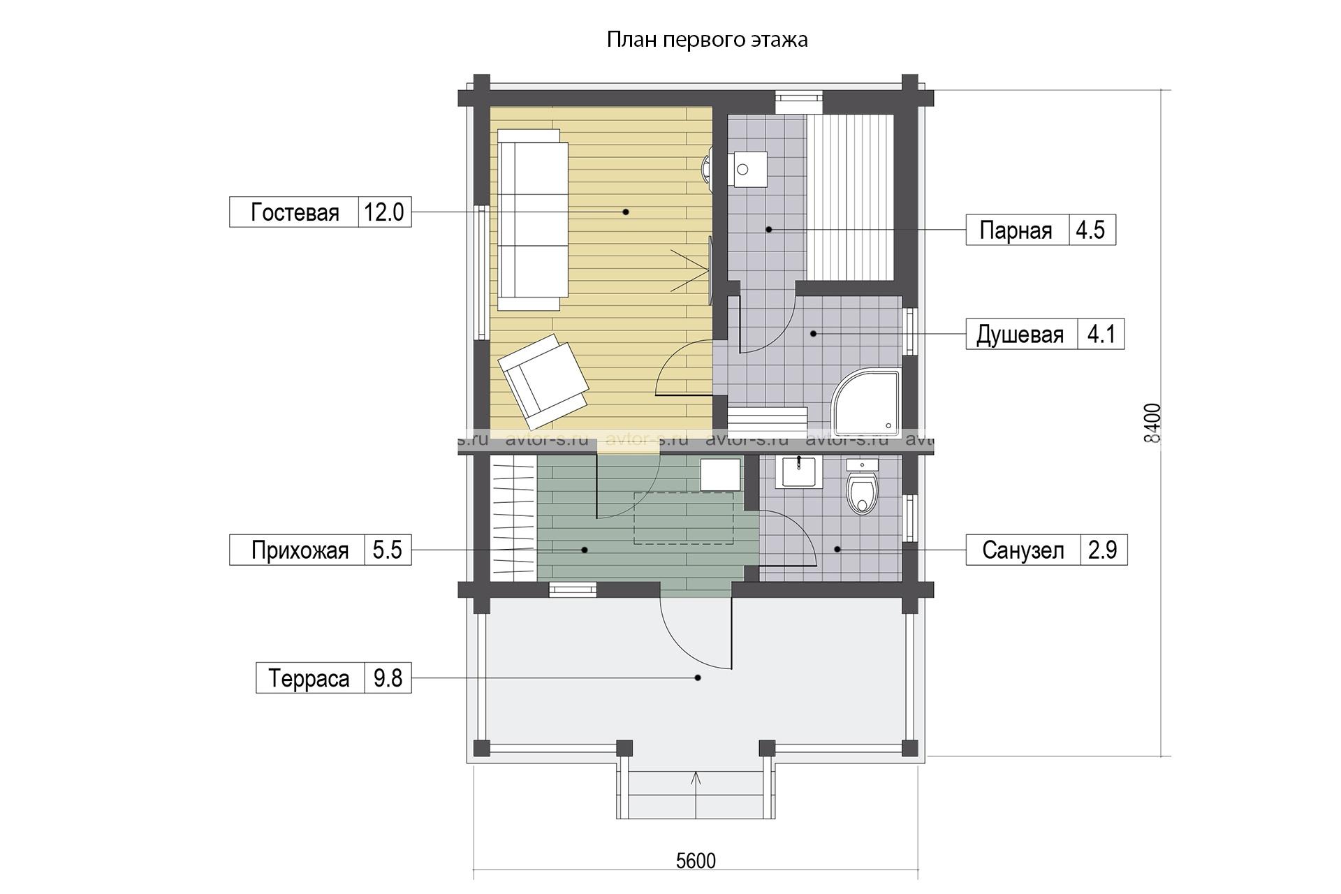 Проект AV105 план