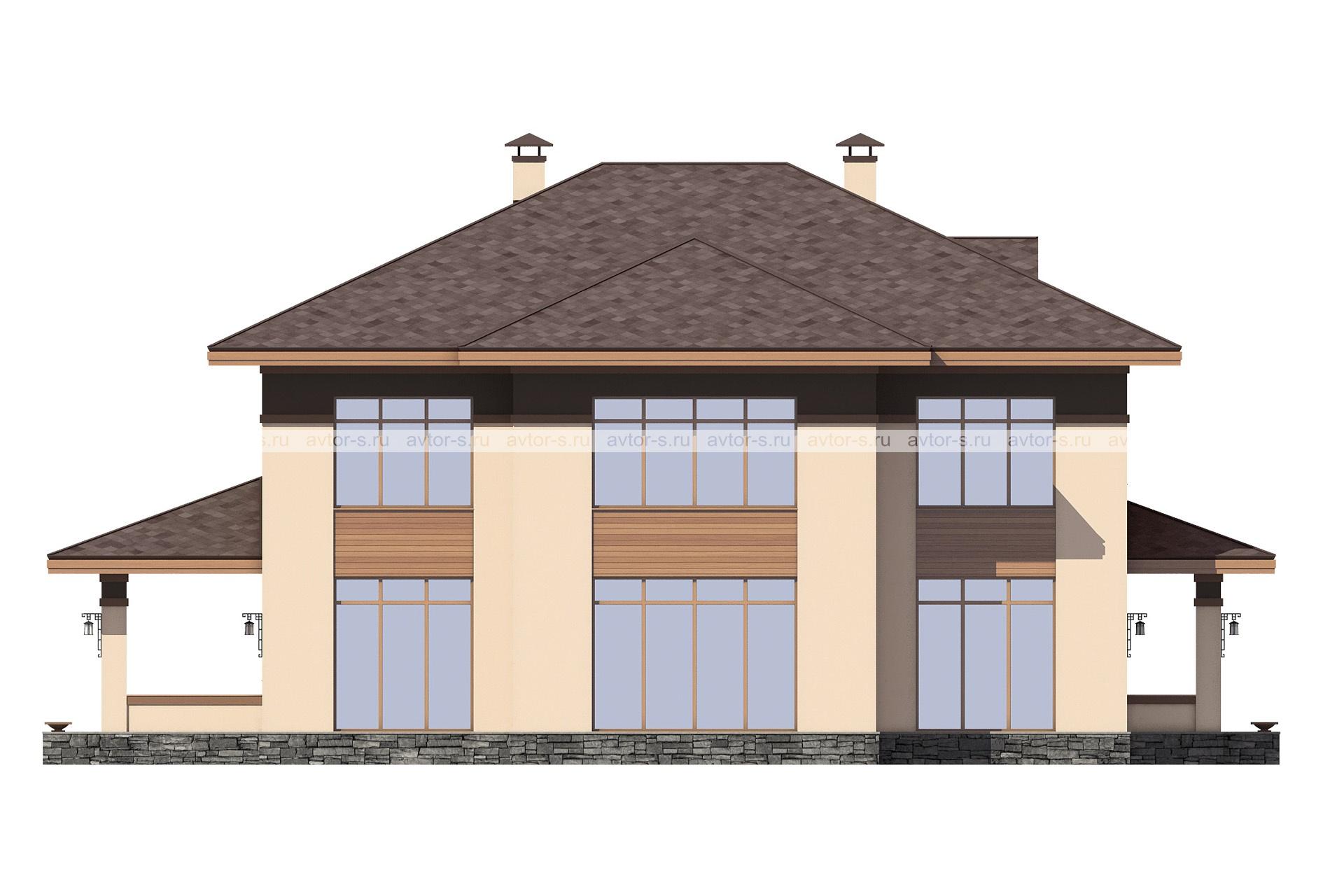 Проект AV325 фасад