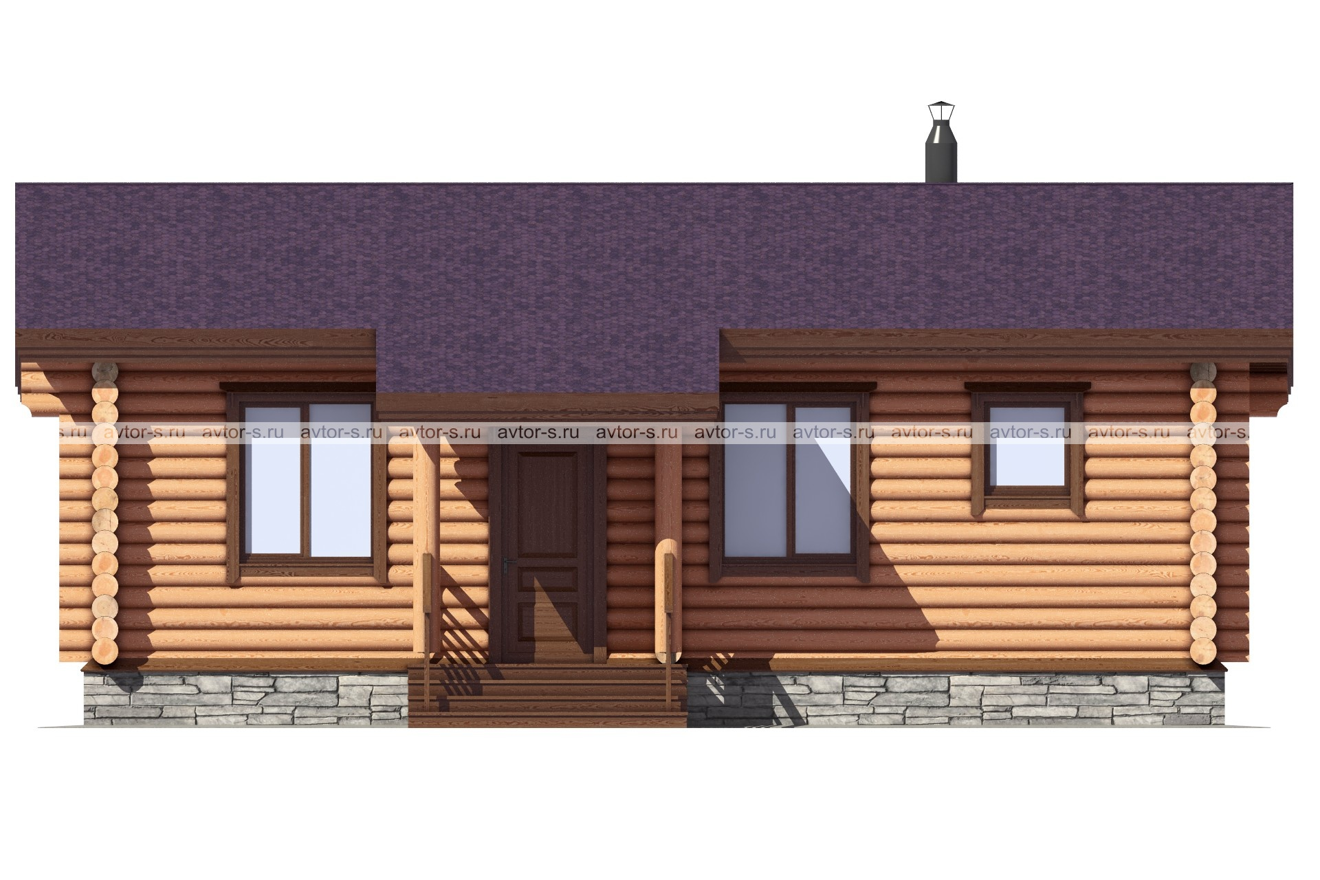 Проект AV100 фасад
