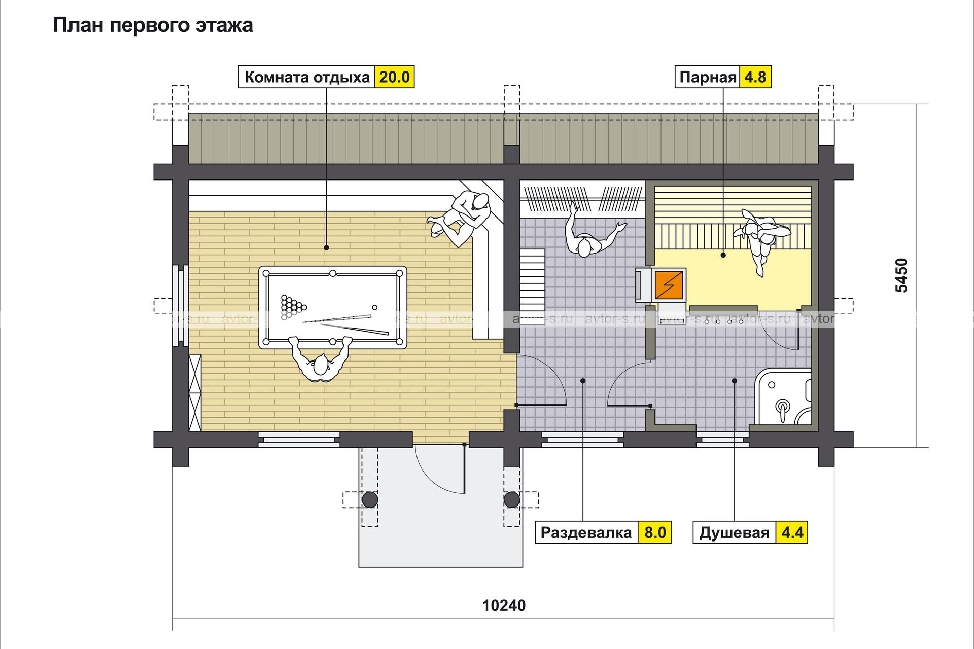 Проект AV100 план