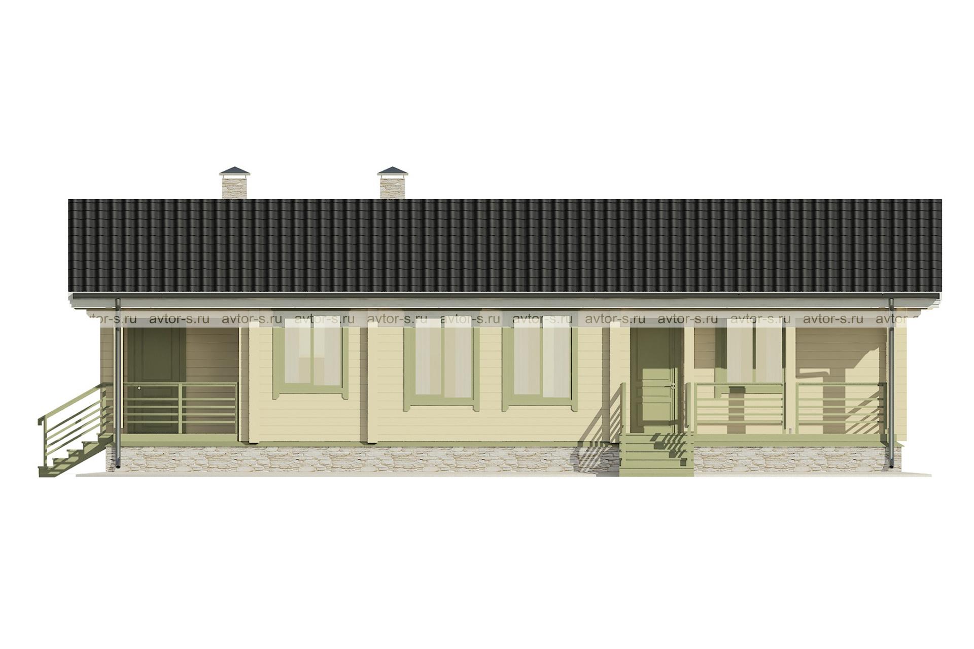 Проект AV102 фасад