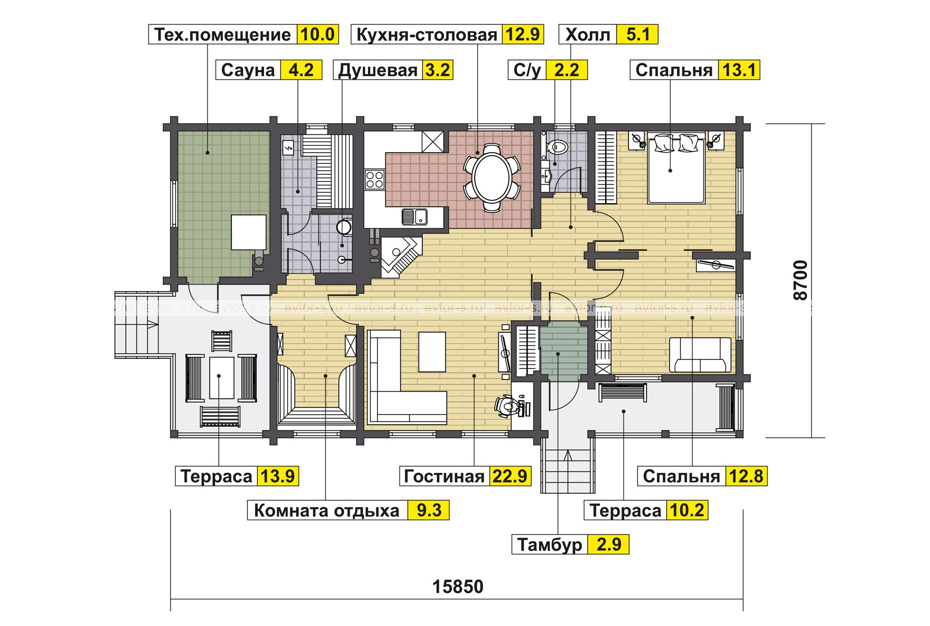 Проект AV102 план