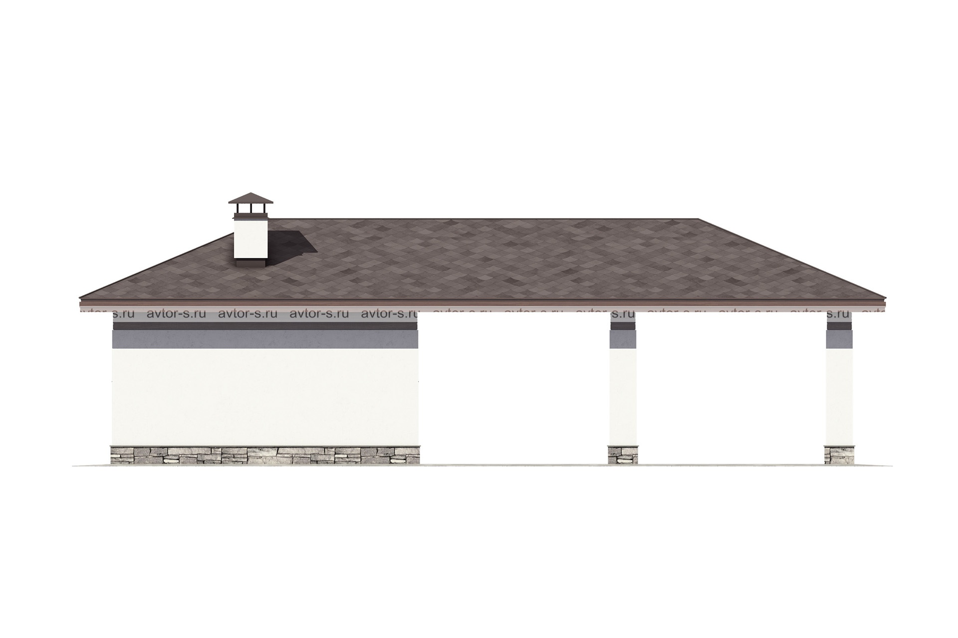 Проект AV104 фасад
