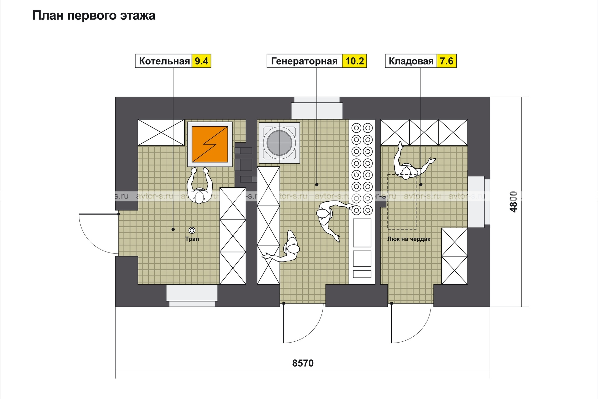 Проект AV101 план