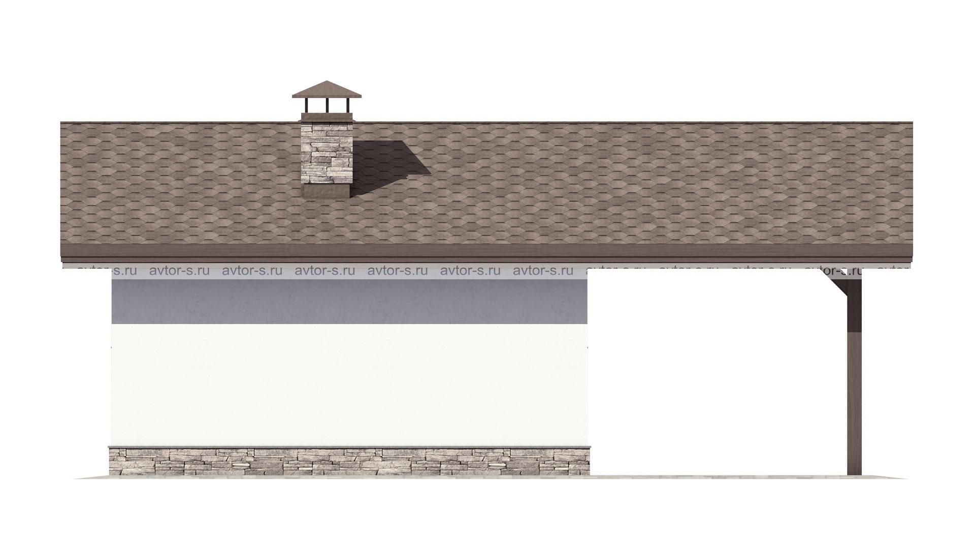 Проект AV107 фасад