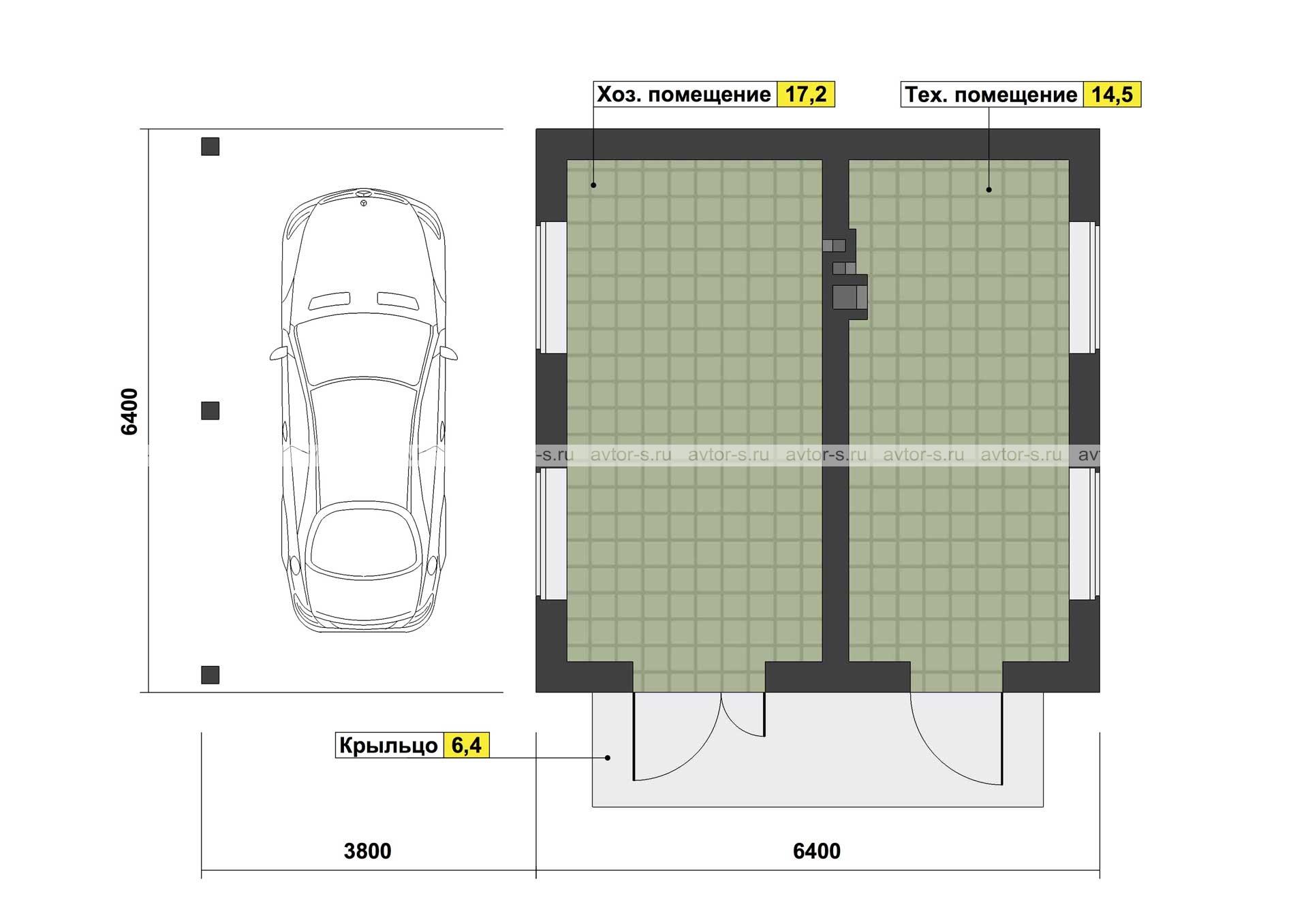 Проект AV107 план