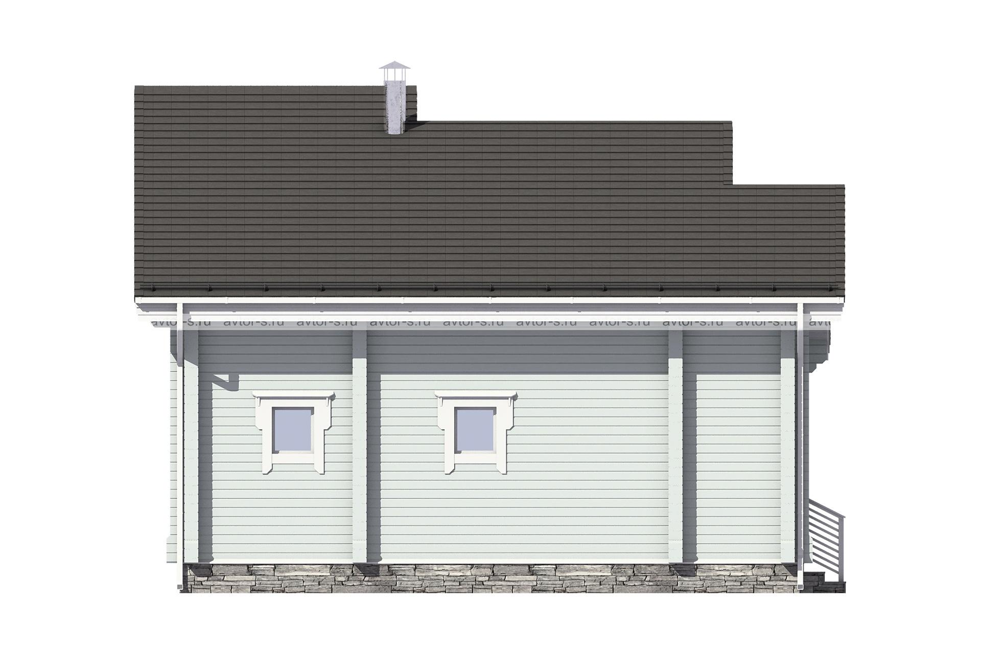 Проект AV202 фасад