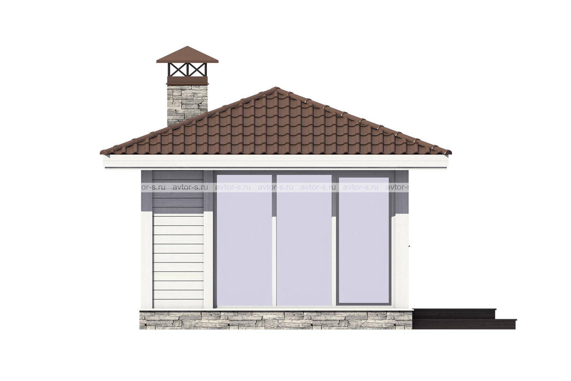 Проект AV106 фасад