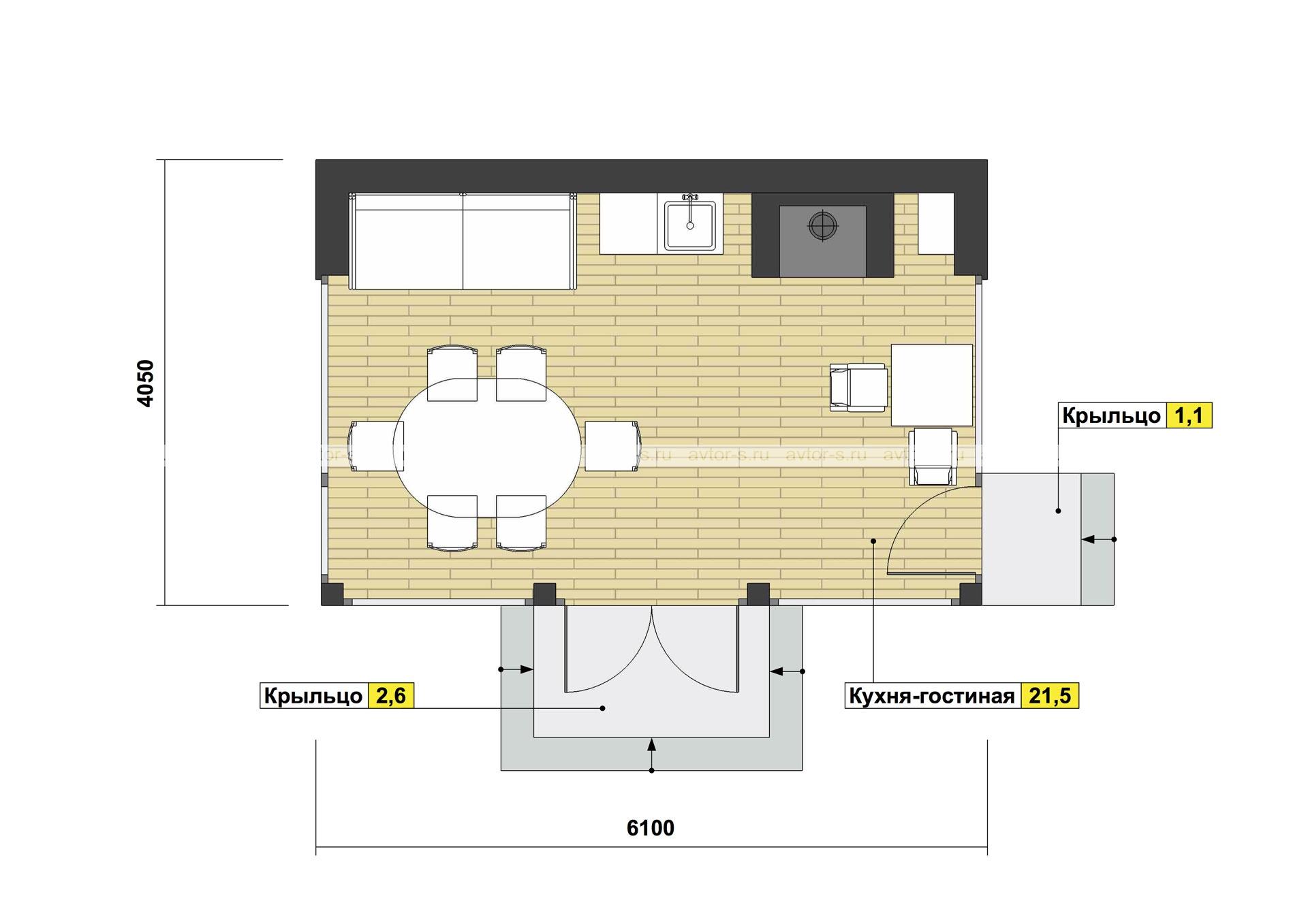 Проект AV106 план
