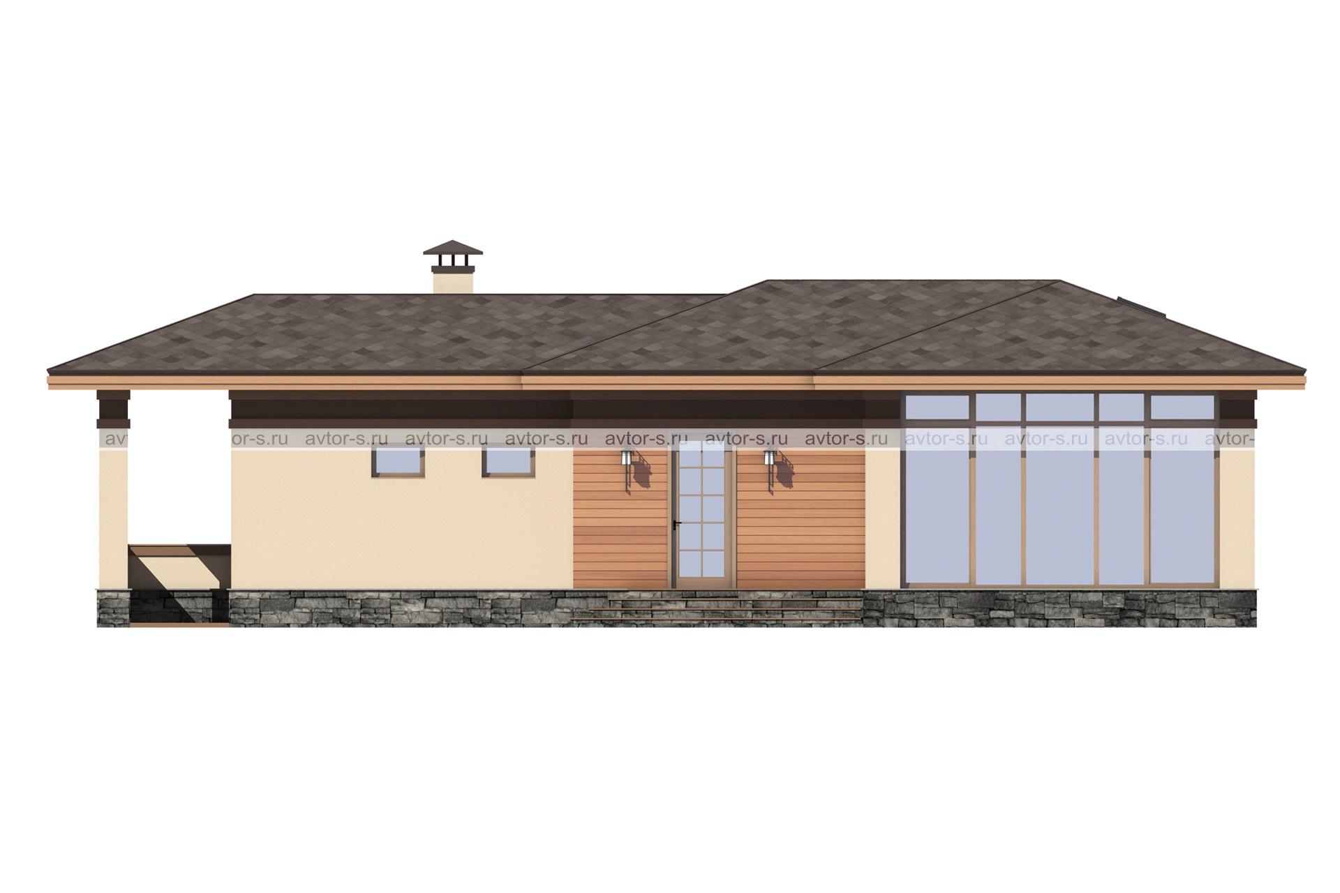 Проект AV320 фасад