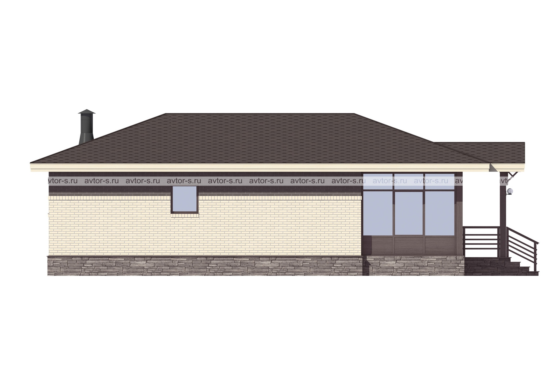 Проект AV321 фасад