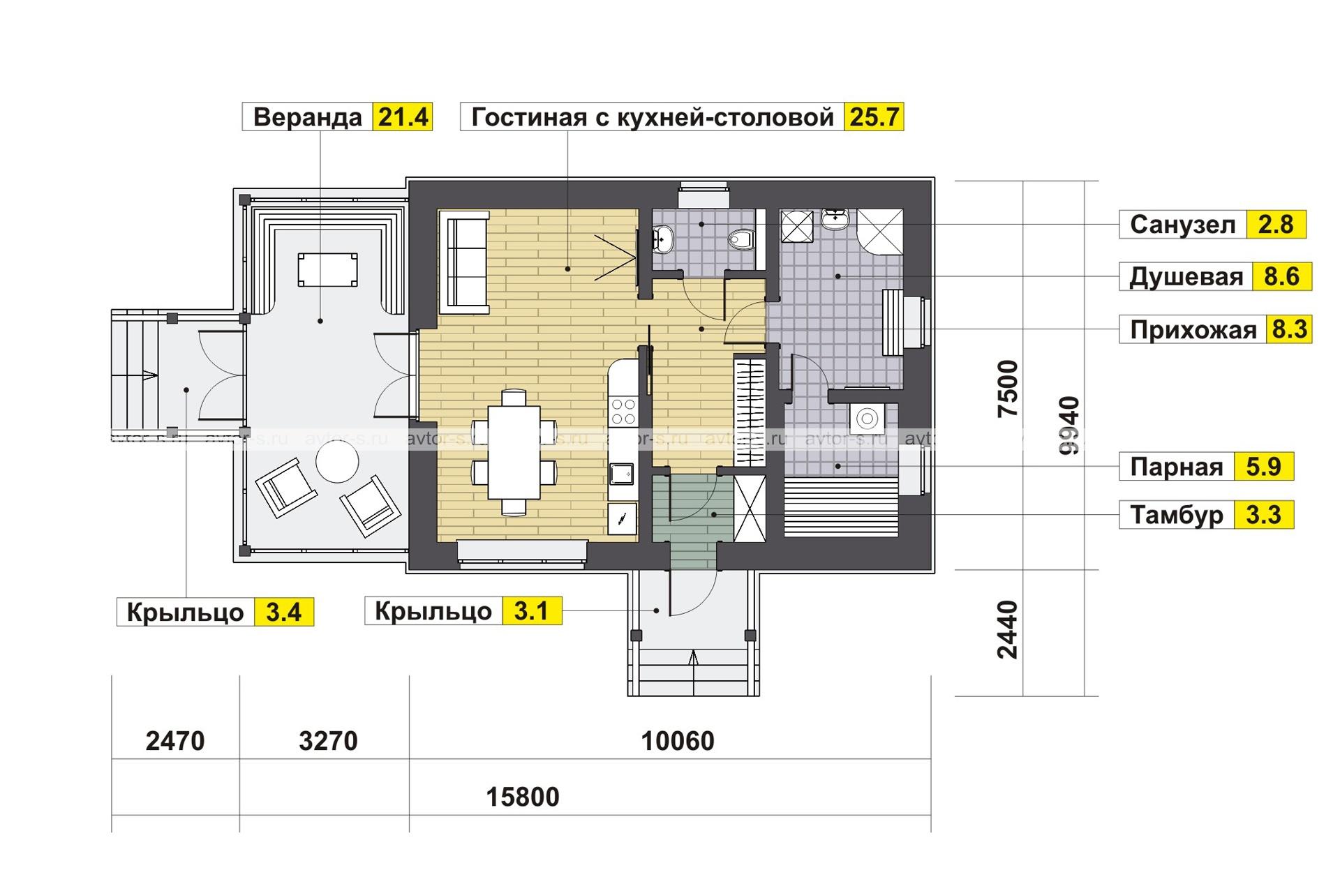 Проект AV321 план